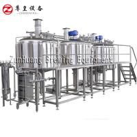 1000L - 2000L Commercial Beer Brewing Equipment For Micro Brewery And Beer Factory Manufactures