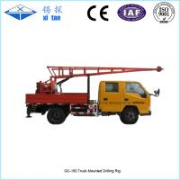 GC-150 Truck Mounted Drilling Rigs with hole depth 150m Manufactures