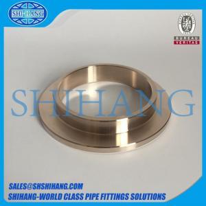 China copper nickel cuni 90/10 c70600 inner flange composite slip on flange on sale