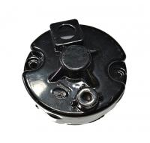 Black Color Bajaj Three Wheeler Parts Custom Starting Motor End Cover Manufactures
