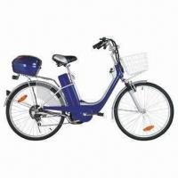 26-inch E-bike with Steel Frame, Front V, Rear Drum Brake, Shimano 6 Speed and Acid/Lithium Battery