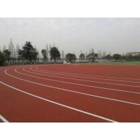 Non Toxic Harmless Running Track Flooring With Good Water Drainage Manufactures