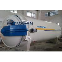 Wood Glass Laminating Autoclave Door , Pressure In Autoclave By Plc Automatic Control Manufactures