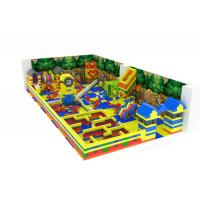 High Density Foam Pixel Indoor Soft Play Equipment With Imported LLDPE Plastic Parts Manufactures