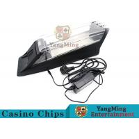 Electric Control Casino Card Shoe Built - In High Speed Recognition Sensor Manufactures