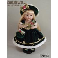 "15"" TOY DOLL PORCELAIN DOLL,ceramic doll, gift doll, doll manufacturer, doll OEM, GIRL DOLL Manufactures"