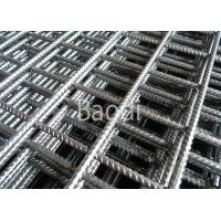 Bar Concrete Welded Reinforcing Wire Mesh Panels Crack Resistant 150mm Mesh Opening Manufactures