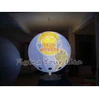 Custom Colorful Inflatable Lighting Balloon globe with total digital printing for Parade Manufactures
