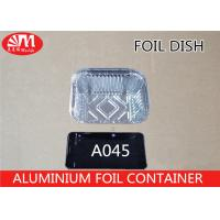 China 430ml Volume A045 Aluminium Foil Container Grill Pan Food Grade Material on sale