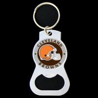 China Zinc Alloy Personalised Bottle Opener Keyring With Sport Team Logo on sale