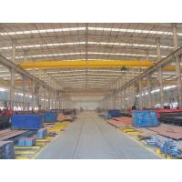Quality light weight 10 ton single girder overhead crane used workshop for sale