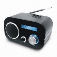 Internet Radio with FM, 3.5mm Headphone Jack and Telescopic Antenna Manufactures