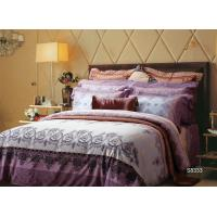 European Style Sateen Cotton Bedding Sets Smooth Feeling With All Size Manufactures