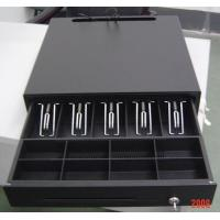 Black Color Finish Metal Mini Cash Register Drawer Lock Box For POS Systems Manufactures