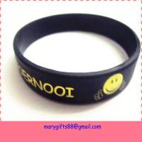 China best eco-friendly silicone wristband custom personalized silicone bracelet on sale