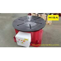 Buy cheap Custom Auto Fixed Welding Positioner 5000mm Diameter Table Electric Power from wholesalers