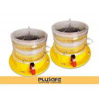 Led Battery Operated Aircraft Warning Lights Fresnel Lens 3KM Visual Distance Manufactures