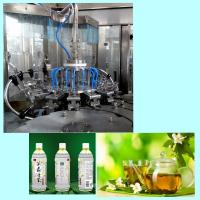 18 Washing Heads Plastic Bottle Tea Filling And Sealing Machine Easy Operation Manufactures