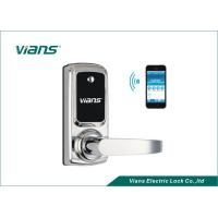 China Electric Bluetooth Enabled Door Lock , Wireless Home Door Lock Controlled By Smartphone on sale