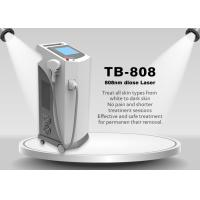 Germany Bars 808nm Diode Laser Hair Removal / Diode Laser Depilation Machine Manufactures