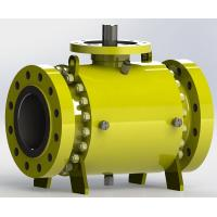 Buy cheap Trunnion Bolted Pipeline Ball Valve, Fire safe Design from wholesalers