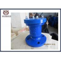 Pipeline Use Water Air Relief Valve , Automatic Water Release Valve Lightweight Manufactures