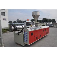 Wide Thick WPC PVC Foam Board Production Line Extruder Single Screw / Twin Screw Manufactures
