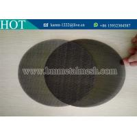 China Different sizes of extruder screens in single layer or multi layer.Screen Mesh Filters on sale