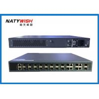 140Gbps Switching Capacity 10G GPON OLT , 16 PON Ports 1U FTTH GPON OLT Manufactures