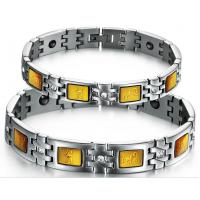 Drjobson Fashion jewelry Stainless steel bracelets set for lovers -BR07 Manufactures