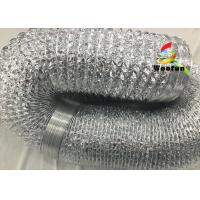 Flexible Aluminum Foil Ducting High Temperature For Air Conditioning System Manufactures