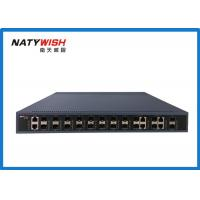 Quality 10G Gigabit Passive Optical Network GPON OLT For Video Surveillance Network for sale