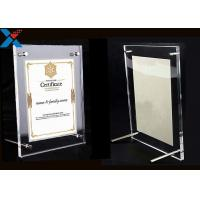 Clear Acrylic Photo Frame A4 A3 Certificate / Business License Frame