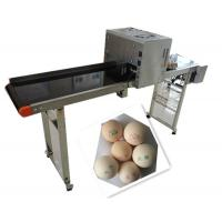 Whole Plate Egg Inkjet Marking Machine With Thermal Foam Type Multiple Nozzle Manufactures