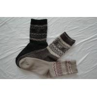 Cozy Cotton Mens Wool Socks With Single Cylinder Knitting For Winter Manufactures