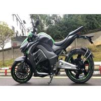 Powerful Fully Electric Sport Motorcycle Short Charging Time For Adults Manufactures