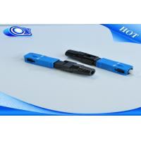 FTTH SC UPC Fiber Connector , Fiber Optic Quick Connector For Cable Television
