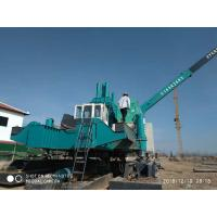 Highway Hydraulic Piling Machine , Pile Pressing Machines No Noise