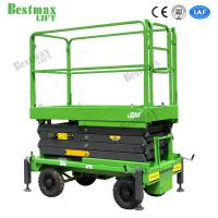 6 Meters Industrial Hydraulic Lift Platform Scissor Lift Aerial Work Platform 1 Ton Load Manufactures