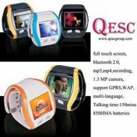 Buy cheap Top Grade Watch Mobile Phone with Camera,Bluetooth from wholesalers