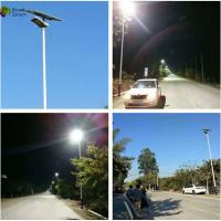 Waterproof Solar Panel Led Lighting System For Highway 8400lm-9600lm Manufactures