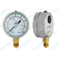 Bottom hydraulic gauge pressure gauge measurement , water pressure meter Manufactures