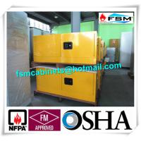 Steel Flammable Safety Cabinets With Double Doors For Hazardous Material Storage Manufactures