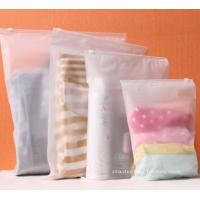 BPA-Free Frosted Soft PEVA Travel Plastic Ziplock Bags Travel Kit Ziplock Pouches Manufactures