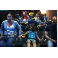 Interactive Games Mini 7D Motion Seats With Durable Projector TUV Certification Manufactures