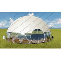 Luxury Geodesic Dome Tent Geodesic Camping Dome For Projecter Or Projection Vedios Manufactures
