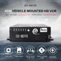 Small Size Black Video Recorder 8 Channel HD 720P SD Card MDVR With GPS 4G Manufactures