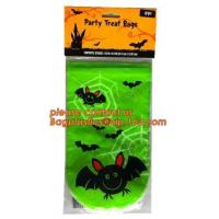 Halloween Candy Bag Basket Trick or Treat Pumpkin Tote Bag for Kids,gift decoration item Halloween cellophane treat bag Manufactures