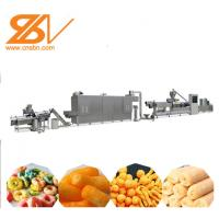 200kw Corn Puff Making Machine Puffed Core Filling Food Machine Muti - Flavored Manufactures