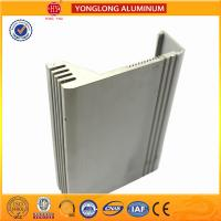 Silver / Bronze Aluminum Extrusion Profiles For Building Heat Insulation Manufactures